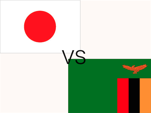 [CS] サッカー・日本 vs ザンビア