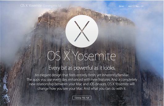 [CS] OS X Yosemite Beta Program