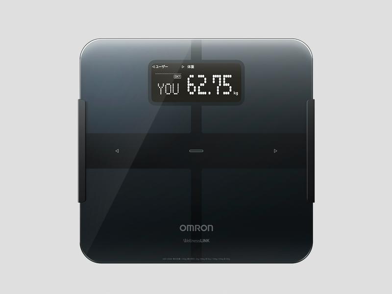 [CS] オムロンから Wi-Fi 搭載 iPhone 連携体重体組成計発売