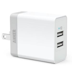 [CS] Anker 20W 2 ポート USB 急速充電器