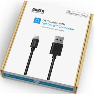 [CS] Anker ライトニング USB ケーブル、交換へ