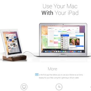 [CS] iPad や iPhone を Mac のサブディスプレイにできる Duet を試す