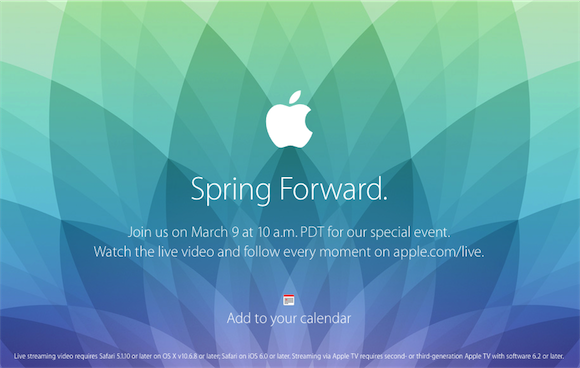 Apple Events March 2015