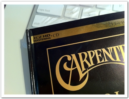 K2HD マスタリング Carpenters: Gold - Greatest Hits
