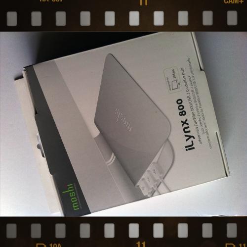 FireWire800 + USB2.0 ハブ「moshi iLynx800」を試す