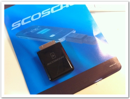 Scosche passPORT Charging Adapter for iPhone 3G